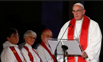 Pope Francis' speech in Lund