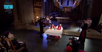 Francis signs common declaration with Lutheran bishop in Lund