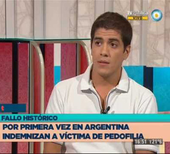 Gabriel Ferrini, victim of sexual abuse by a priest