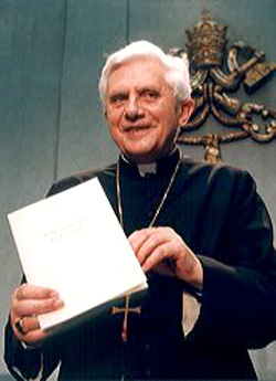 Cardinal Ratzinger releases the supposed third secret
