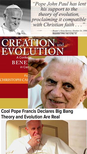 Evolution conciliar popes