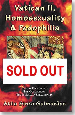Vatican II, homosexuality, and Pedophilia book cover