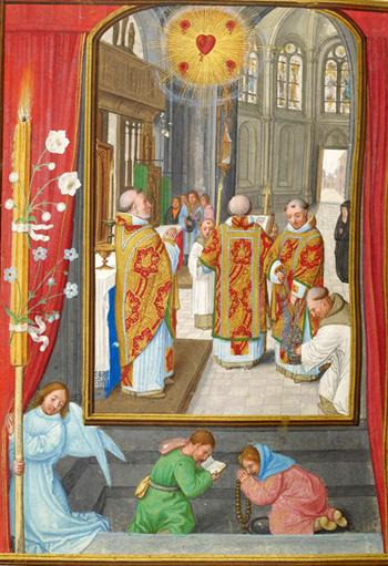 manuscript Mass Rosary