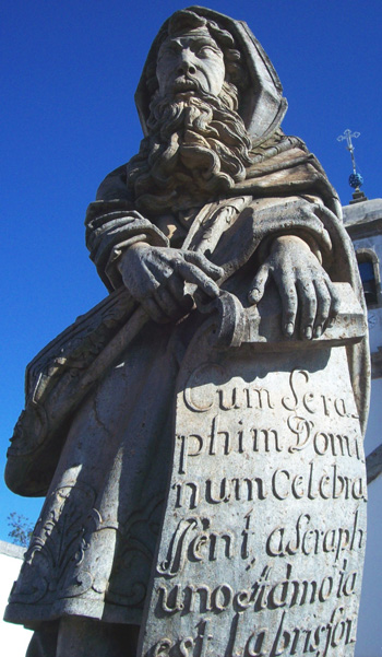 Isaiah the Prophet - Aleijadinho - Congonhas - Brazil