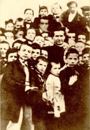 Don Bosco and his boys