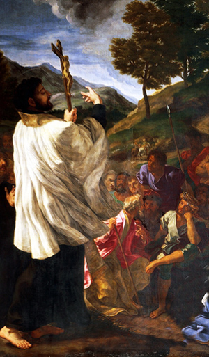 St. Francis Xavier Raises a Man to Life by Fr. Dominique ...