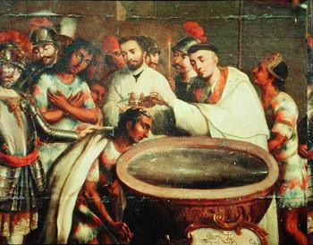 baptism indians
