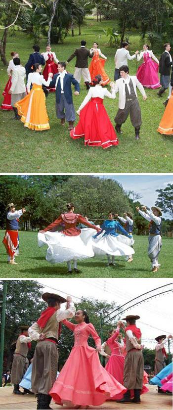 Brazilian gaucho dancers