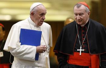 Francis and Card. Parolin